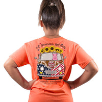 Simply Southern® Short Sleeve - All American Hot Mess - YOUTH