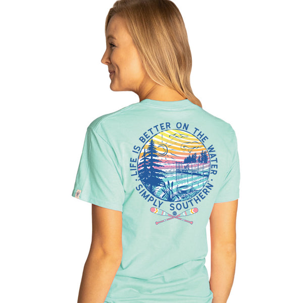 Simply Southern® Short Sleeve - Life is Better on the Lake