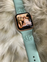 Engraved Monogrammed Apple Watch Band 38/40 and 42/44