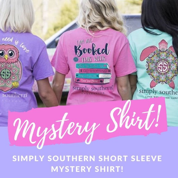 Simply Southern Mystery Shirt, 2 Accessories, 1 Mystery Gift