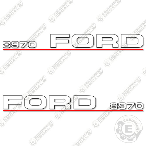 Ford 8970 Decal Kit Tractor