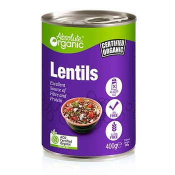 Canned Lentils 400g