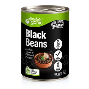 Canned Black Beans 400g
