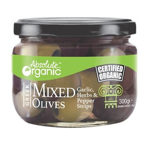 Olives Mixed Greek Not-Pitted 290g
