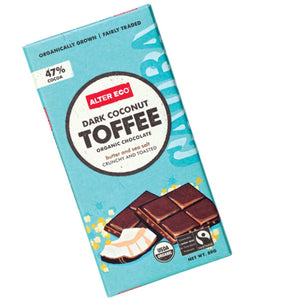 Chocolate Dark Toffee 80g