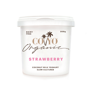Coconut Strawberry Yoghurt Coyo 500g