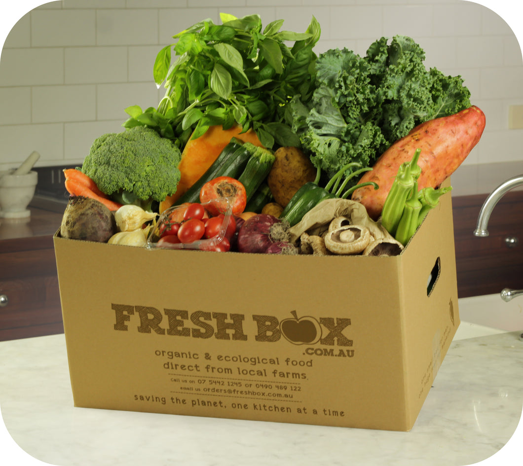 Veg & Herb Box Large (2-5p)