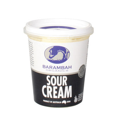 Cream Sour Barambah Organics 200ml