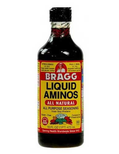Amino Bragg Liquid | All purpose soy seasoning 473ml