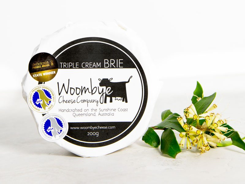 Cheese Triple Cream Brie 200g