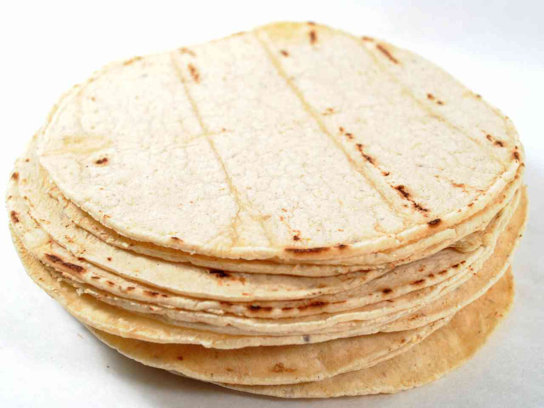 Tortilla White Corn 12 Pack