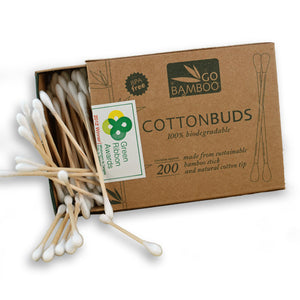 Cotton Buds Bamboo 200
