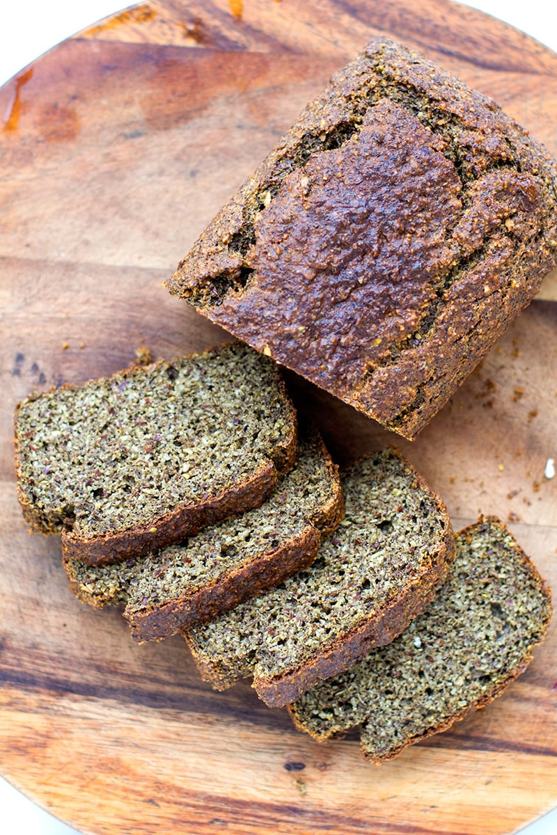 Fat & Seedy Bread - Keto, Low Carb, GF