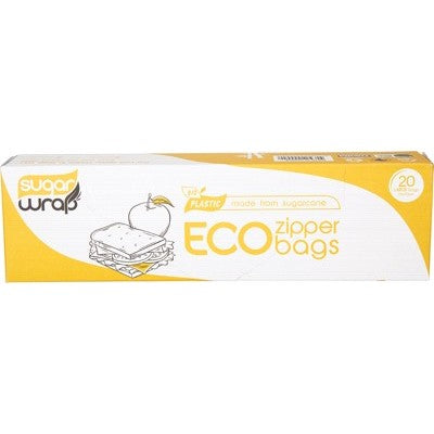 Eco Zipper Bags - Large 20pk