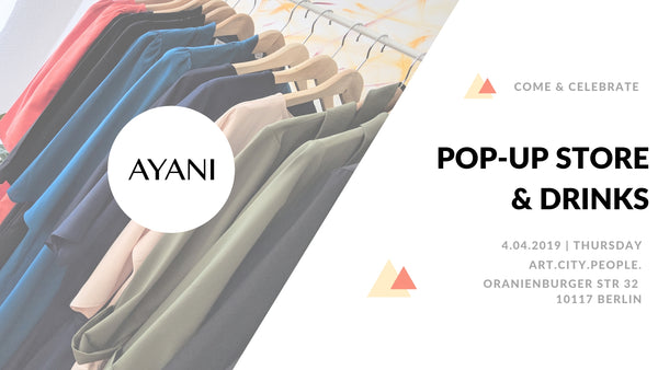 AYANI Pop-Up Store & Drinks