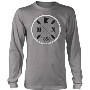 Long Sleeve Shirt Kayak Minnesota