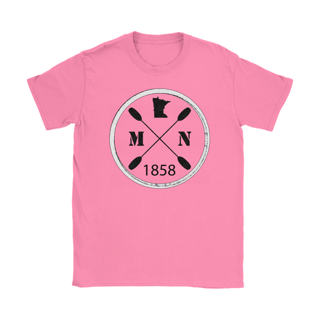Women's T-Shirt Kayak Minnesota