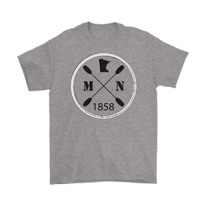 Men's T-Shirt Kayak Minnesota
