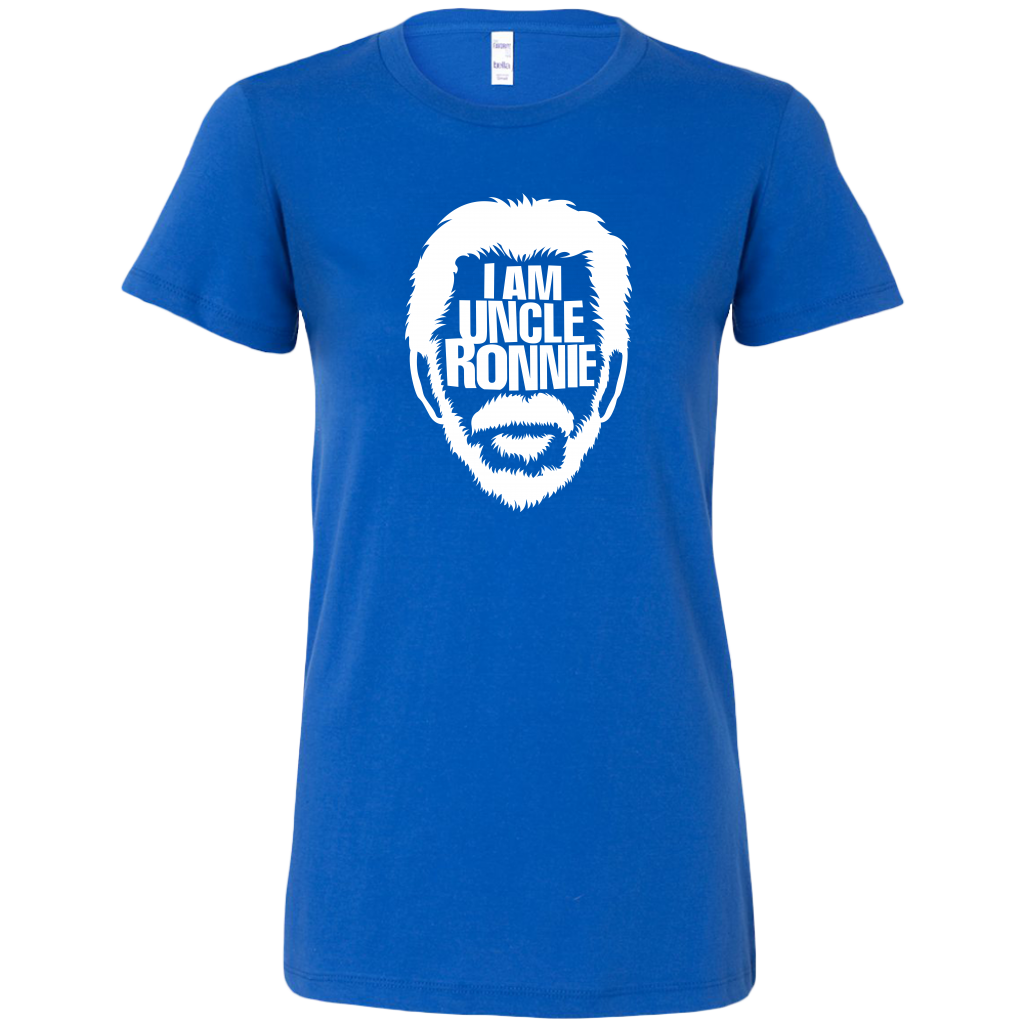 "I AM UNCLE RONNIE Women's | The official ""Middle of Somewhere"" T-shirt"