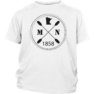 Youth T-Shirt Kayak Minnesota