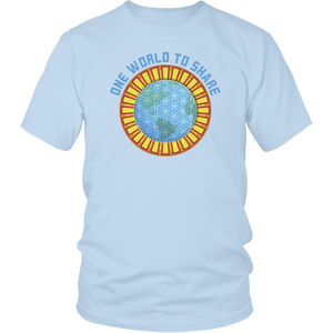 One World To Share Logo T-Shirt