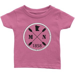 Infant's T-Shirt Kayak Minnesota