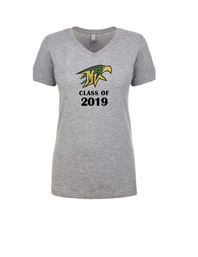 Mountain Vista Ladies Graduation Year T-Shirts- 2019-2024