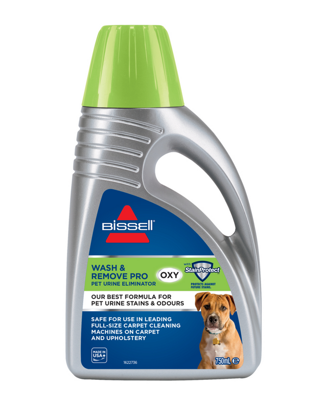Twin Pack Wash & Remove Pro Oxy Pet Urine Eliminator Formula (750ml)