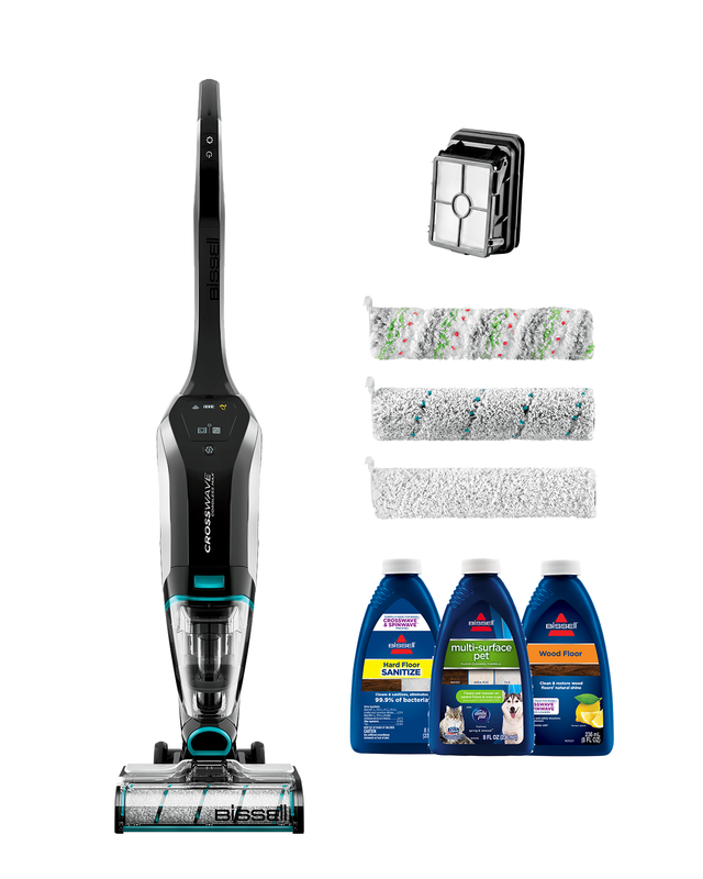 bissell crosswave cordless max bundle