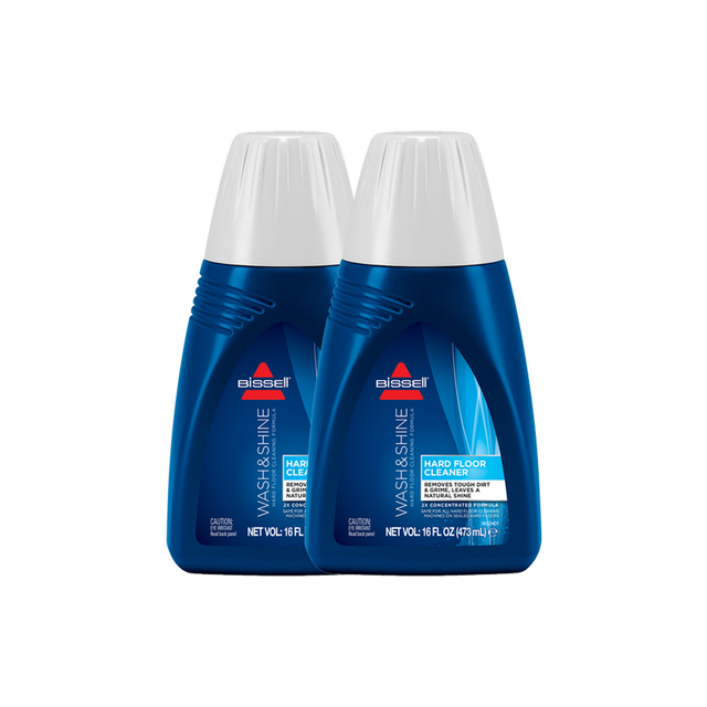 Twin Pack Hard Floor Solutions Formula (473ml)