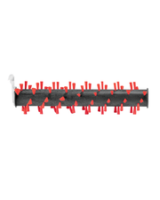 Area Rug Brush Roll for CrossWave MAX (2786F)