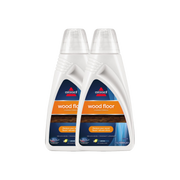 Twin Pack Wood Floor  Cleaning Formula For CrossWave & SpinWave (1 L)