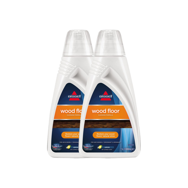 BISSELL Twin Pack Wood Floor  Cleaning Formula For CrossWave & SpinWave 17889