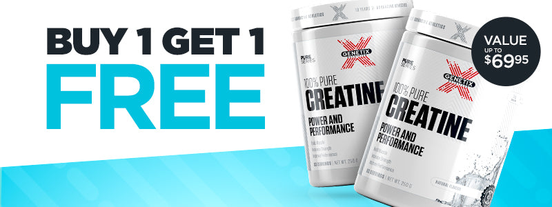 Buy 1 Get 1 Free Genetix Creatine