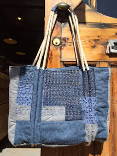 Stitch Rope Beach Bag