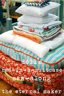 Doll's Bed in a Suitcase Sew Along Coming Soon!
