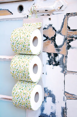Toilet Roll Holder Tutorial