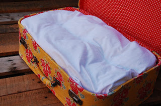 Doll's Bed in a Suitcase Sew Along Part 2 – Making the Mattress
