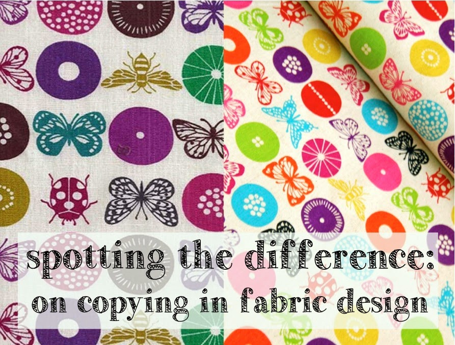 Spotting the difference: on copying in fabric design.