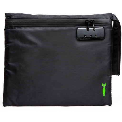 Large Smell Proof Bag with Lock Front View
