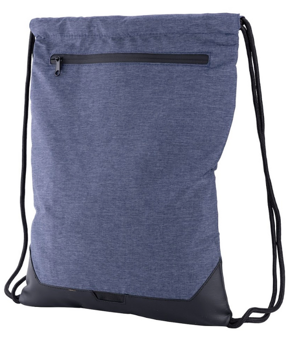 Smell Proof Drawstring Backpack With Lock - Front View Alternative
