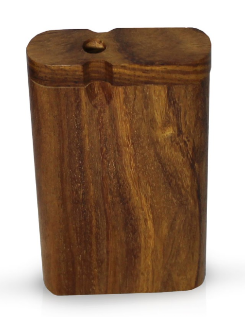 Wood Dugout - Front View