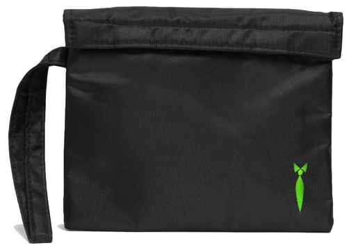 Small Smell Proof Bag Velcro Seal Front View