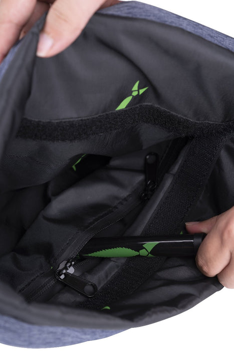 Smell Proof Drawstring Backpack With Lock - Inside