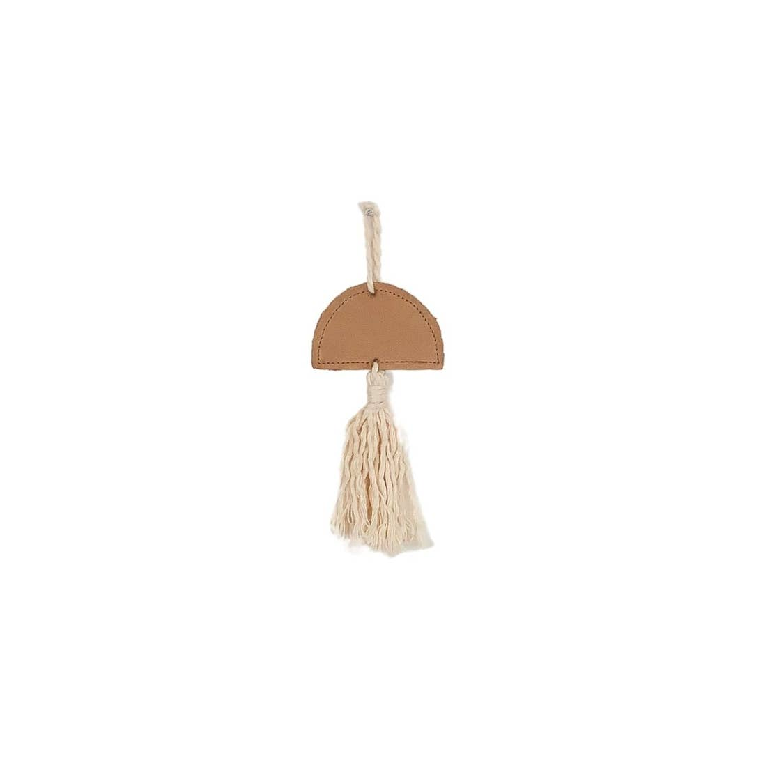 Cotton and Leather Tassel