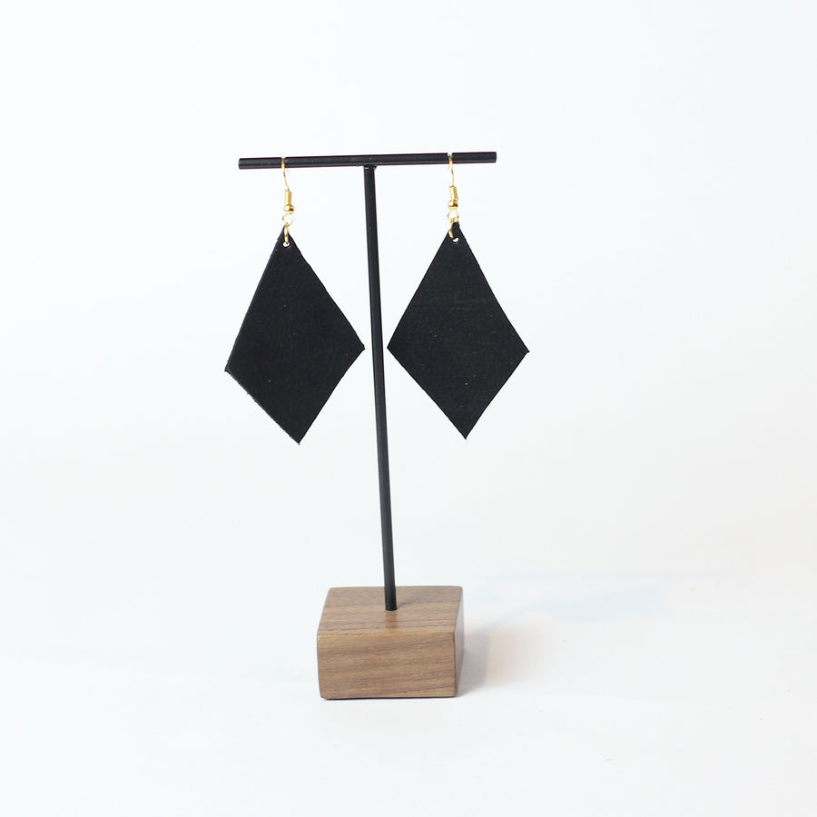 Salana Leather Earring