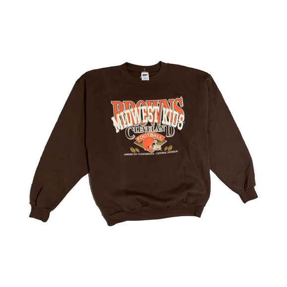 MWK Vintage Browns Crewneck Sweater