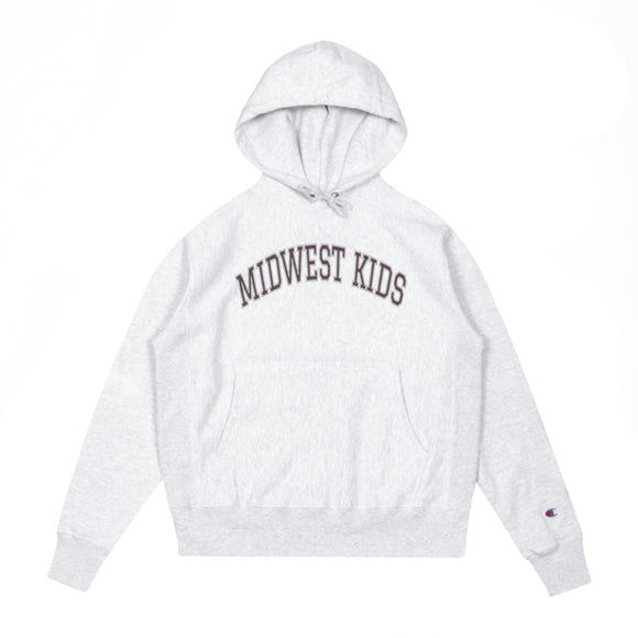 Midwest Kids RW Hooded Sweatshirt (Ash)