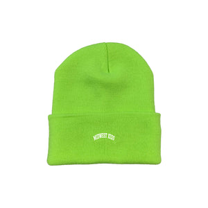 MWK Beanie (Safety Green)