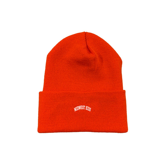 MWK Beanie (Orange)